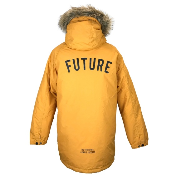 buy popular choose clearance elegant in style Zara Kids Yellow Future Puffer Jacket Youth 13 14